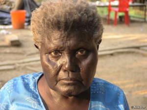 Boa Sr was the last member of the Bo tribe.  © Alok Das